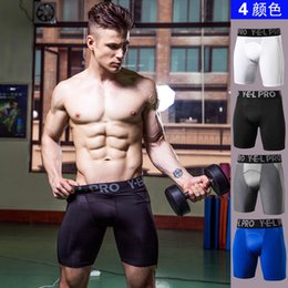 SkinS compreSSion ShortS online shopping - Muscleguys Men Compression Shorts Base Layer Thermal Skin Bermuda Shorts Gyms Fitness Men Cossfit Bodybuilding Tight