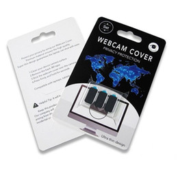 protect tablet Australia - New Webcam Cover for IPad Tablet PC Laptop Phone External Webcams Devices Protect your privacy ultral thin with retail packaging