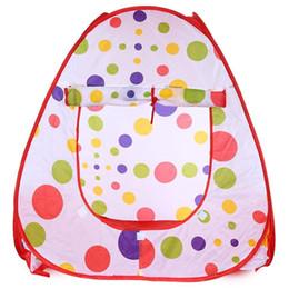 Kids pop up play tent online shopping - Baby Game Play Tent Foldable Children Kids Pop Up Ocean Ball Play Tent Indoor Outdoor Playhouse Tent Garden Playhouse Kids Tents EEA665