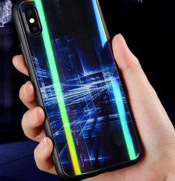 $enCountryForm.capitalKeyWord Australia - 2019 hot Aurora glass mobile phone case new model for Huawei P30 for iphonex laser dazzling color protective cover to customize the drawings