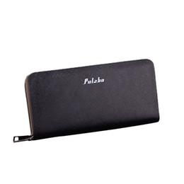 Long Male Wallet Zipper Australia - Men Wallet Long Zipper Leather Male Purse Mens Clutch Handy Bag Wallets Leather Men's Wallet With Coin Pocket Small Portemonnee
