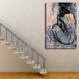 picasso arts UK - Pablo Picasso Blue Nude 1902 HD Canvas Posters Prints Wall Art Painting Decorative Picture Modern Home Decoration Accessories