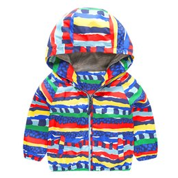 Cartoon Girl Hood Australia - Mudkingdom Little Boys Jacket with Hood Cartoon Pattern Toddler Boy Clothes Full Zipper Outerwear Spring Autumn