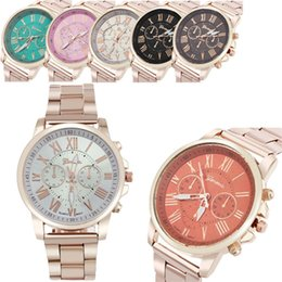 $enCountryForm.capitalKeyWord Australia - Fashion casual luxury Roman numerals stainless steel analog men's quartz watch business watch female male clock