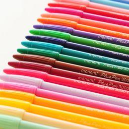 Korean Gel Pens Australia - 24 Pcs Color gel pens Monami 3000c pen canetas escolar Zakka School supplies office material Korean stationery
