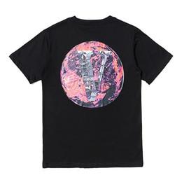 $enCountryForm.capitalKeyWord UK - New POP UP Earth Printed T-shirt Hip Hop Fashion Men Women Tee Simple Street Skateboard Breathable Casual Short Sleeves Tee HFYMTX523