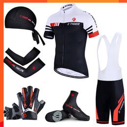 $enCountryForm.capitalKeyWord NZ - X-tiger Short Sleeve Cycling Set Big Cycling Jersey Set Ropa Ciclismo Bike Uniform Breathable Cycling Clothing Mtb Bike Wear Hot