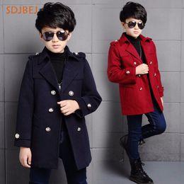 $enCountryForm.capitalKeyWord NZ - 2018 Winter Kids Coat For Boys Children Outerwear Coats Fashion Kids Jacket Thick Warm Big Boy Woolen Coats Clothing