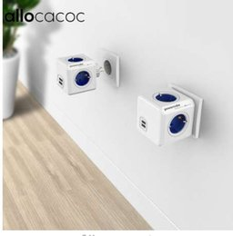 Power Socket Eu Australia - Allocacoc Power Strip Extension Design PowerCube Socket EU Plug 4 Outlets Dual USB