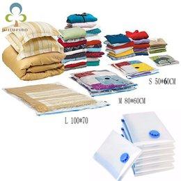 Space Bedding Australia - Vacuum Bag Storage Bag Transparent Border Foldable Extra Large Compressed Organizer Saving Space Seal Bags Organizer