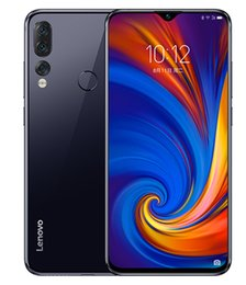 $enCountryForm.capitalKeyWord Australia - New Lenovo Z5S smartphone 6.3 Inch Qualcomm SDM710 2.2GHz ZUI 10.0 16.0MP 8.0MP Three Camera 6GB RAM 64GB ROM Fingerprint ID OTG