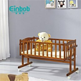 infant cradle beds UK - 826 Infant Bed BB Bed Bassinet Solid Wood Bassinet Separate Cradle Infant Cradle