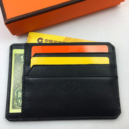 Rock Blocks Australia - Rfid Blocking Slim Driving license wallet Genuine Leather Credit Card Holder Purse Black Business Men ID Card Case Coin Pocket Pouch Bag
