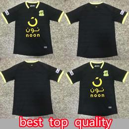 numbers shirt 2019 - soccer jerseys 2019 2020 Al Ittihad Jeddah SA Soccer Jerseys Custom Any Name Number Home Black 19 20 Football Shirt disc