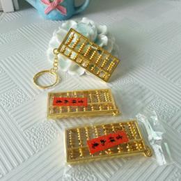 $enCountryForm.capitalKeyWord Australia - Manufacturer wholesale abacus key-button alloy 8 small abacus couple key-button craft gifts wholesale