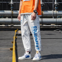 $enCountryForm.capitalKeyWord Australia - Luxury Mens Sweatpants With Letters Fashion Brand Track Pants For Men Designer Pants Autumn Drawstring Long Pant Mens Clothing M-3XL