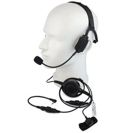 $enCountryForm.capitalKeyWord NZ - Finger PTT MIC Military Bone Conduction Tactical Headphone Headset for Motorola T5950 6200 6220 Ham Radio Walkie talkie C2217A