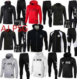 2018/19 PSD куртка с капюшоном Jordam X PSG Survetement Лиги чемпионов 18/19 PSG MBAPPE футбольная куртка с воздушным джордамом