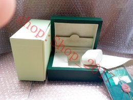 $enCountryForm.capitalKeyWord Australia - Wholesale Luxury New Style Brand Green Watch Original Wood Box Papers Gift Watches Boxes Leather bag Card For Rolex Box 116600 Watch Box