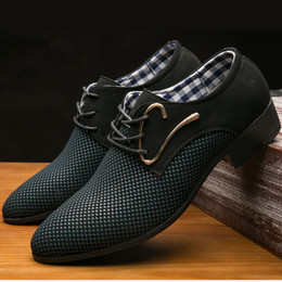 $enCountryForm.capitalKeyWord Australia - Hot Sale-New Men's Casual Shoes Men's Pointed Shoes England Korean Version Of The Trend Cross-border Spring And Autumn Breathable Size 38-48