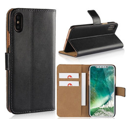 Iphone 5s Flip Case Magnetic Australia - For iPhone X 8 Plus Magnetic Wallet PU Leather Phone Case Flip Cover For Iphone 6 7 8 plus 5S Samsung S7 Edge S7 S6 Edge S6 S8 Plus S8 S9