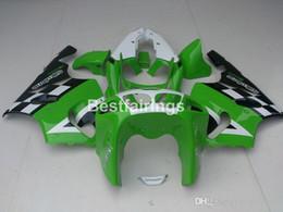 $enCountryForm.capitalKeyWord Australia - New hot body parts fairings for Kawasaki Ninja ZX7R 96 97 98 99 00-03 green white black fairing kit ZX7R 1996-2003 TY41