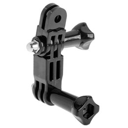 adjustable arm for camera NZ - ST-15 Three-way Adjustable Pivot Arm for GoPro NEW HERO  HERO6  5  5 Session  4 Session  4  3+  3  2  1, Xiaoyi and Other Action Cameras