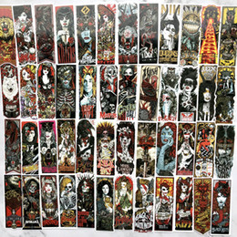 Toy Suitcases NZ - 50pcs Cool Goth style Car Stickers For suitcase laptop skateboard Moto phone Car Kids Toy sticker waterproof Graffiti decals