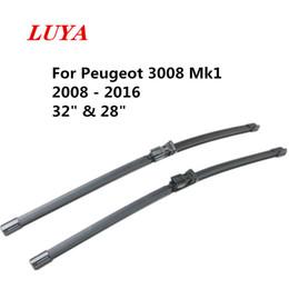 """Опт Luya Щетка стеклоочистителя в автомобиль стеклоочистителя для Peugeot 3008 Mk1 (2008 - 2016) Размер: 32"""" 28"""""""