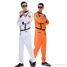 male full belt Australia - Clothes With Belt Halloween and Fancy Dress Party Clothes Fashion Homme Stage Wear Astronauts Mens Cosplay