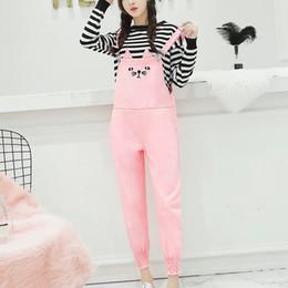 0f4536cb0b Korean Fashion Denim Rompers Womens Jumpsuit Cute Cat Black Pink Jean  Overalls Casual Loose Pockets Jumpsuit Pants
