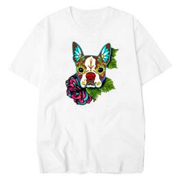 09089e585 good quality French Bulldog Mens T-shirts Colorful Fashion Mens Tshirt  Summer All-match Basic Tee Shirt Homme Cotton White T Shirt