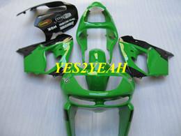 $enCountryForm.capitalKeyWord Australia - Motorcycle Fairing body kit for KAWASAKI Ninja ZX-9R ZX 9R 98 99 ZX 9R 1998 1999 Green Fairings bodywork+gifts KC14