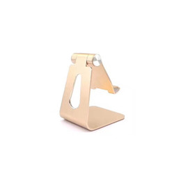 Aluminum Ipad Tablet Stand Australia - Z4 Mobile Phone Tablet Desk Holder Aluminum Metal Stand For iPhone iPad Mini Samsung Smartphone Tablets Laptop