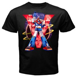 Chinese  Voltes planet robot mecha japan anime tv series T-Shirt BlackFunny free shipping Unisex Casual Tshirt top manufacturers