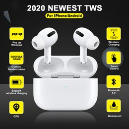 Wholesale Airs 3 Pro TWS Bluetooth Earphone Air True Wireless Earbuds Sport Headphones for iPhone 11 Android Pk i9000 i90000 max
