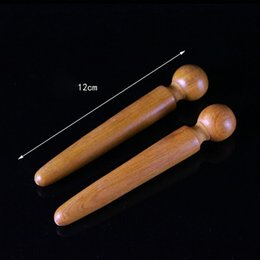 $enCountryForm.capitalKeyWord Australia - 1PCS Foot Body Massage Wooden Stick Acupuncture Foot Reflexology Massager Relieve Muscle Soreness Relaxing Tool D19011203