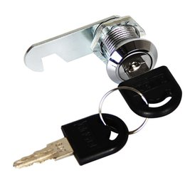 Post locks online shopping - Silver Cabinet Door Cam Lock Mailbox Cupboard Home Anti Lost Security Drawer Post Universal Zinc Alloy Hardware With Key