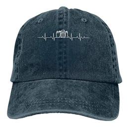 $enCountryForm.capitalKeyWord NZ - 2019 New Cheap Baseball Caps Print Hat Camera Heartbeatvv Mens Cotton Adjustable Washed Twill Baseball Cap Hat