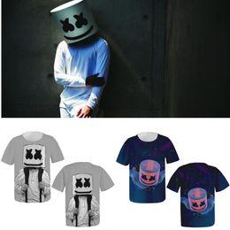 T Shirt Loose Australia - kpop marshmello DJ New Harajuku t shirt men women 3D printing t-shirts casual hip hop tshirt streetwear loose fashion clothes