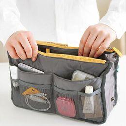 $enCountryForm.capitalKeyWord Australia - Women Lady Travel Insert Handbag Organizer Purse Large Liner Organizer Tidy Bag Toy Storage Bags Make Up Organize