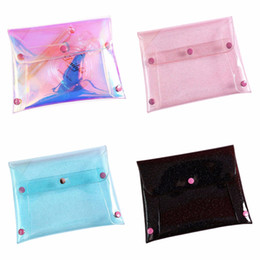 $enCountryForm.capitalKeyWord Australia - 18x14cm Fashion Women Laser Holographic Female Purse Pencil Stationery Bag Makeup Cases Wallet Girl