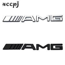 Discount car letter badges - Car-styling Word letter 3D Logo Car Sticker SPORT Emblem Badge Door Decal Auto Accessories for AMG B C E C260 CLA CLS G