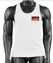 $enCountryForm.capitalKeyWord Australia - 2019 Cross-border products Men's Fitness Pure Cotton Standard European Code Hot-stamped German Flag vest Best Sellers motion GYM