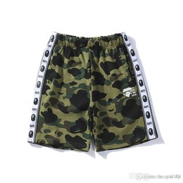 Justin bieber sale online shopping - New Summer Fashion Ape Pants Camouflage Print Casual Pants Justin Bieber Juvenile Casual Shorts Trousers for Men Cheap Sale