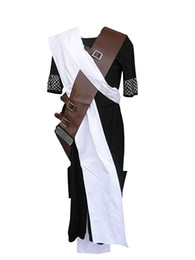 Wholesale naruto cosplay outfits for sale - Group buy Japanese Anime Naruto Cosplay Costume Gaara Black Outfit Ver