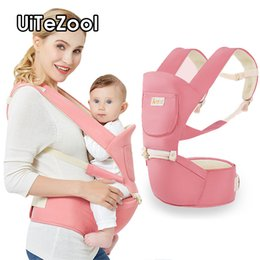 large plastic zipper bags UK - UiTeZool Sling For Newborn Ergonomic Baby Carrier Baby Kangaroo Bag for Baby Hipseat Infant Insert Toddler Carrier Hip Seat Car
