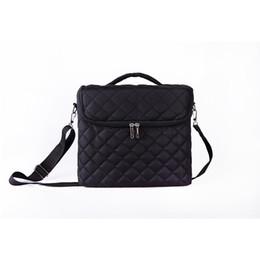 $enCountryForm.capitalKeyWord UK - Large Capacity Cosmetic Bag New Women Makeup Bag Organizer For Cosmetics Toiletry Bags Multi-layer Storage Box Portable Suitcase