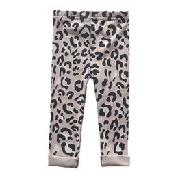 $enCountryForm.capitalKeyWord Australia - New leopard print Kids Leggings Cotton Girls Leggings Girls Tights Children Trouser Casual Pants kids designer clothes kids clothing A4468