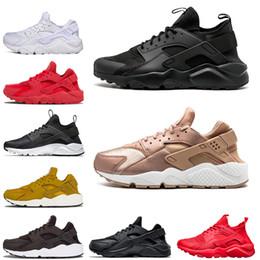 95d19d8bafc Womens light up sneakers online shopping - Designer Huarache Sneaker For Mens  Womens Running shoes Triple